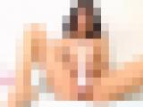 日焼けした19歳の褐色JDがディルドと電マで激しくイク!ライブオナニー
