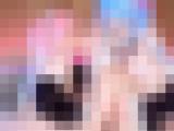 アニメコスした女の子達の3Pハメ撮りセックス